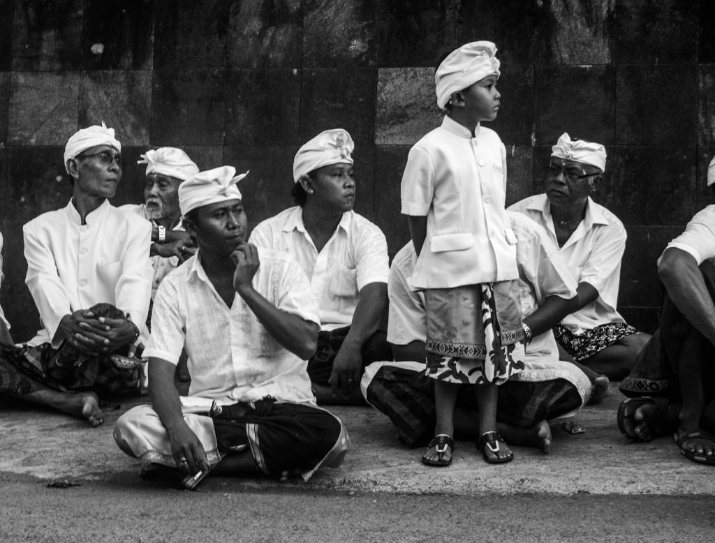 Padangbai, Bali Villagers