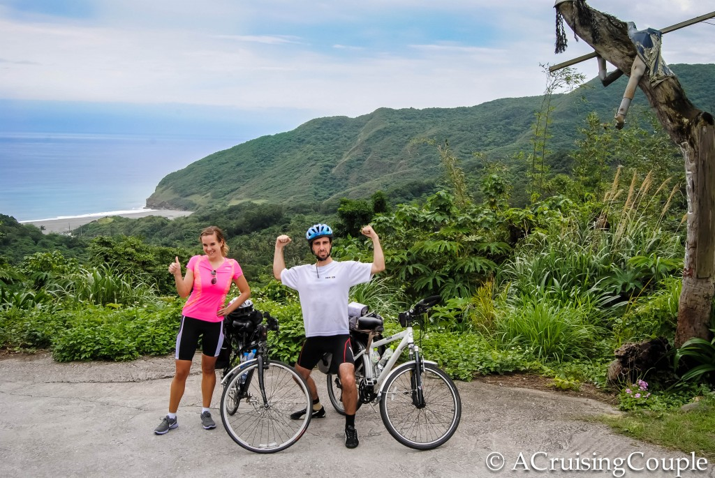 A Cruising Couple Cycling Taiwan East Coast