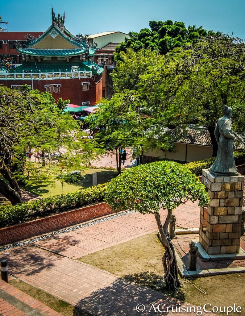 Anping Fort Tainan Taiwan View