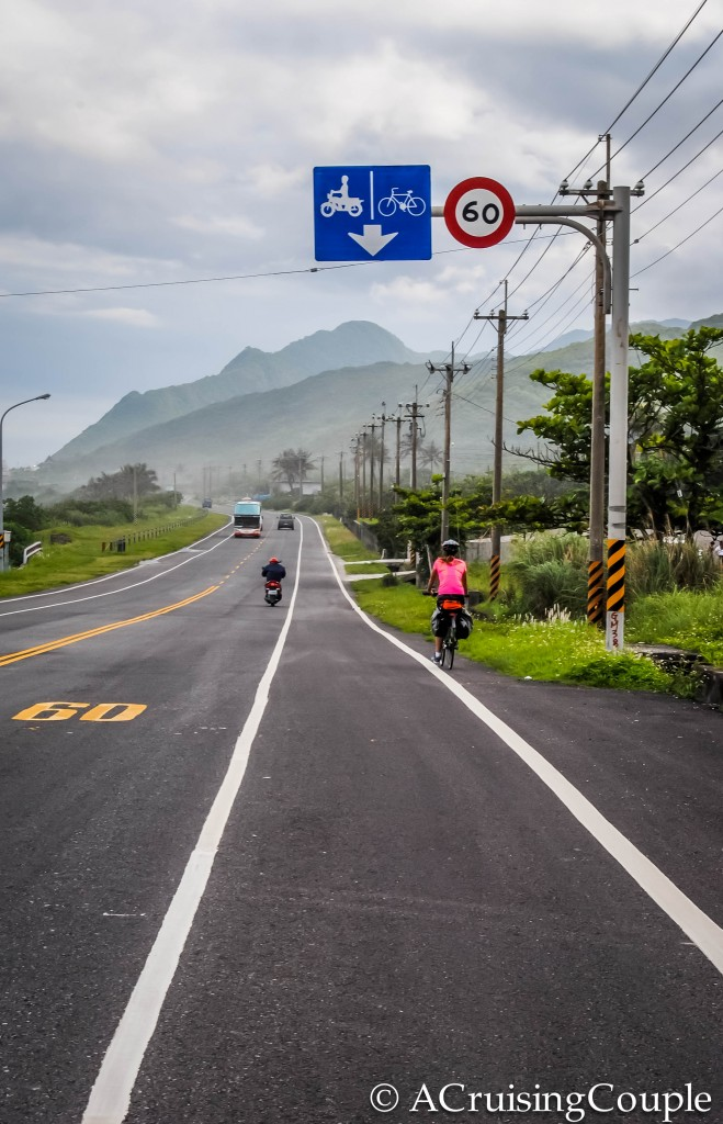 Cycling Hualen to Taitung