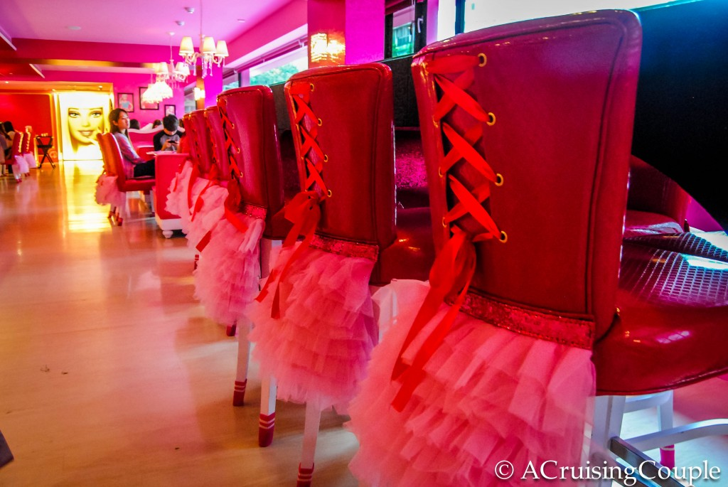 Barbie Cafe Theme Restaurants Taipei Taiwan