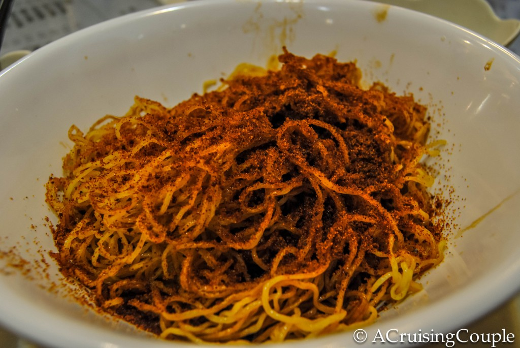 Egg Noodle with Shrimp Roe Hong Kong Foodie