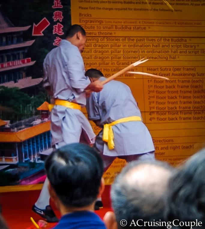 Monks Kung Fu Show Lantau Island