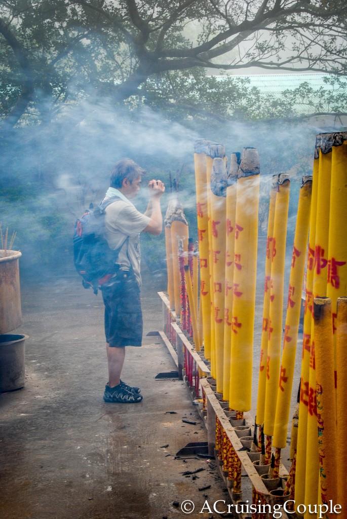 Praying Lantau Island