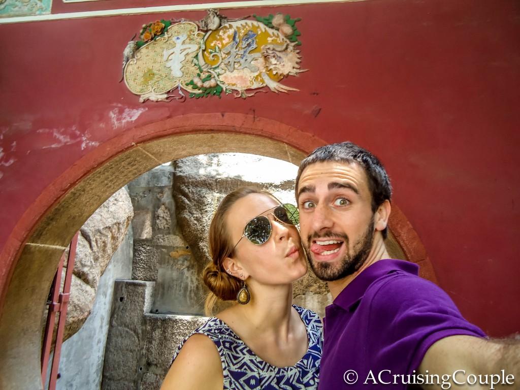 A Cruising Couple A Ma Temple Macau