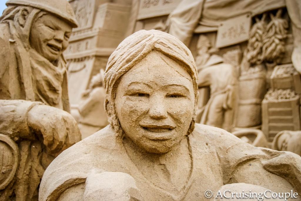 Fulong Beach International Sand Sculpture Festival Taiwan