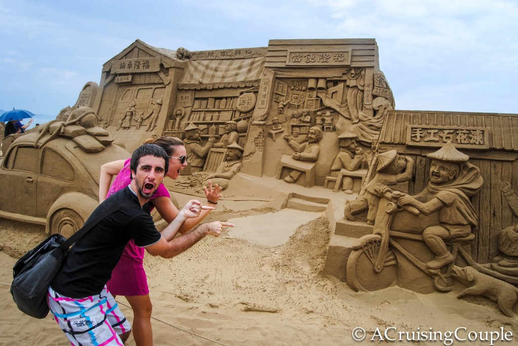 Fulong International Sand Sculpture Festival Old Town Taiwan