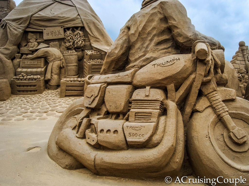 Fulong International Sand Sculpture Festival Taiwan