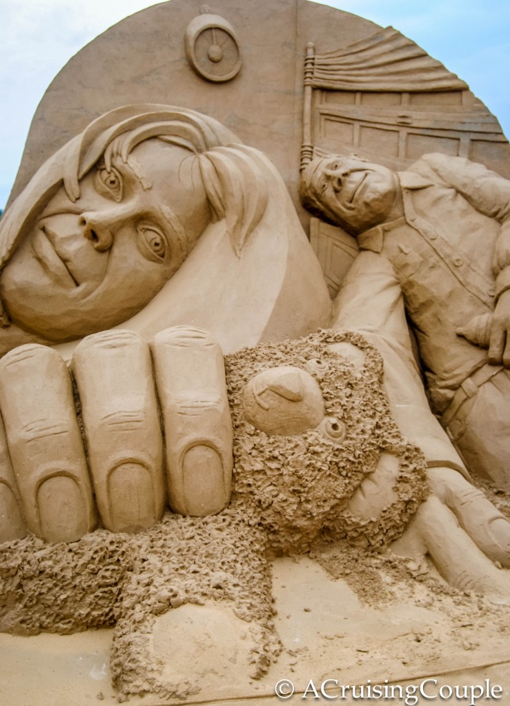 Fulong International Sand Sculpture Festival Taiwan Baby View