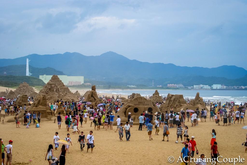 Fulong International Sand Sculpture Festival Taiwan Beach