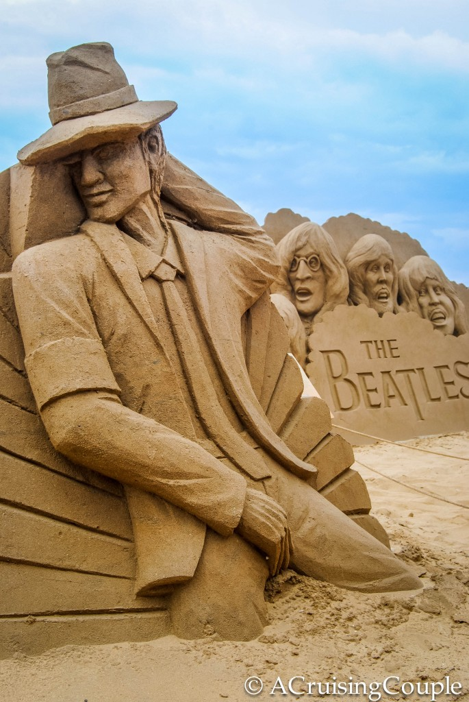 Fulong International Sand Sculpture Festival Taiwan Beach Micheal Jackson Beatles