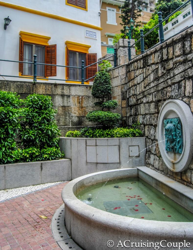 Lilau Square Spring Water Macau
