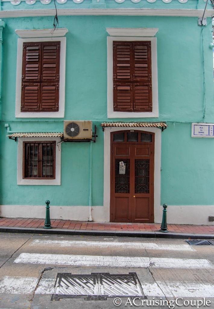 Portuguese Pastel House Macau