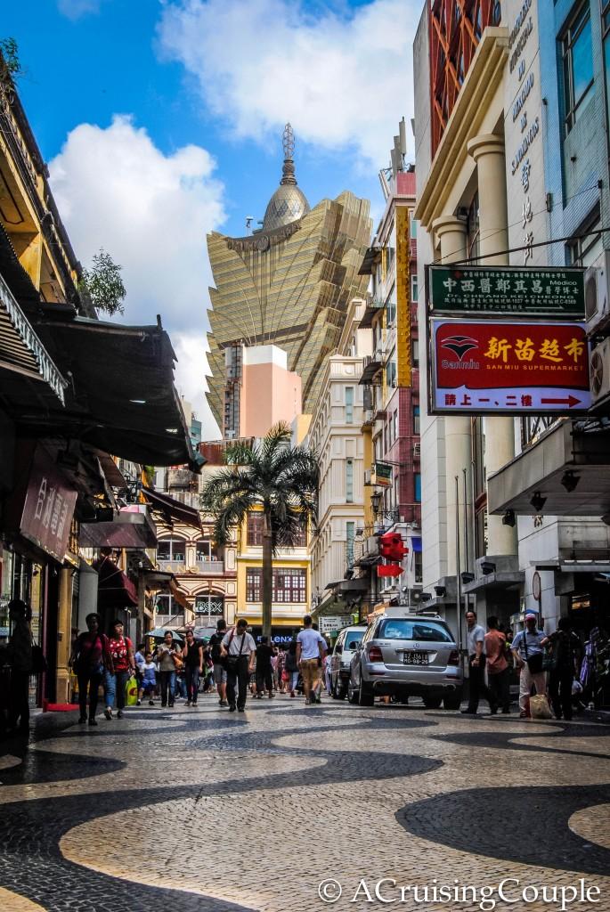 Sanado Square and Grand Lisboa Macau