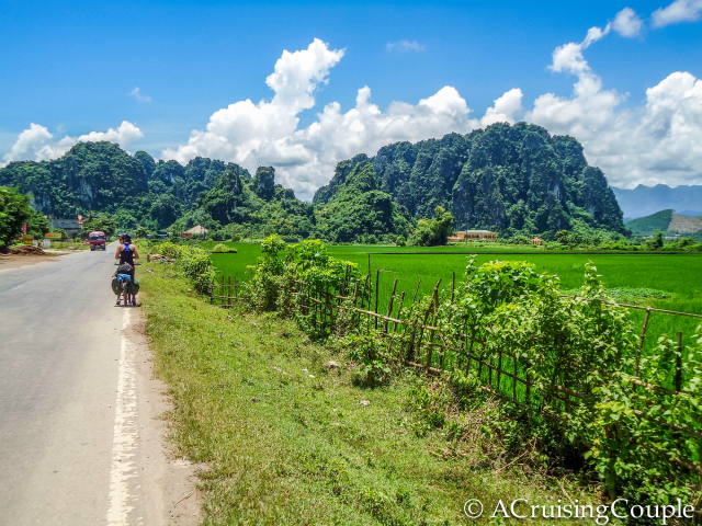 Cycling in Vietnam 1