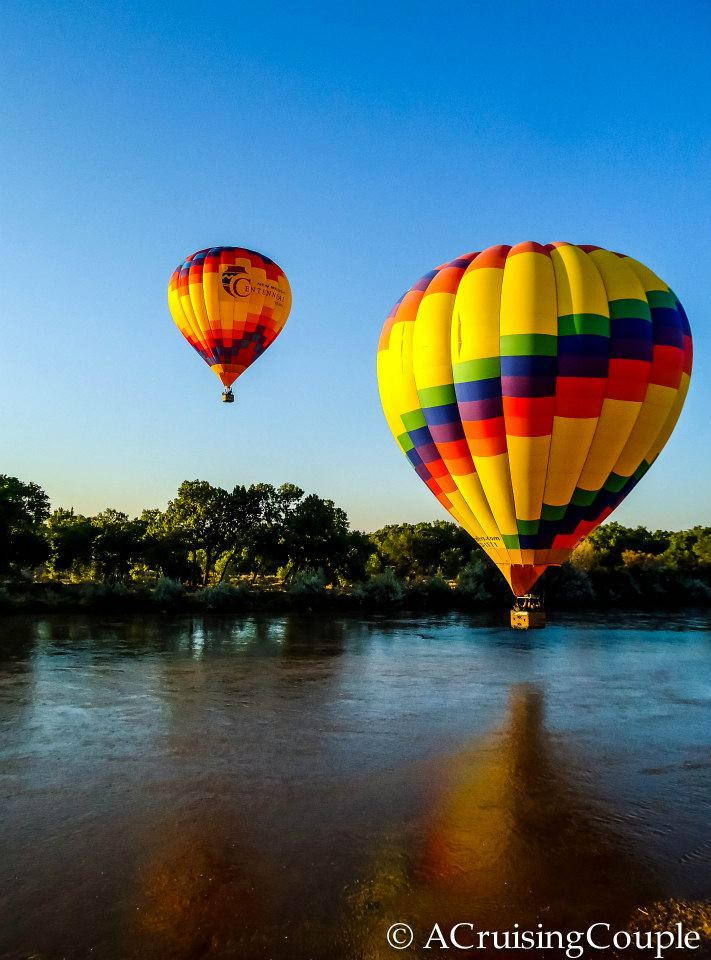 Hot Air Balloons Rio Grande New Mexico