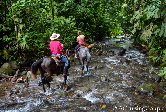 La Fortuna Horseback Riding Costa Rica