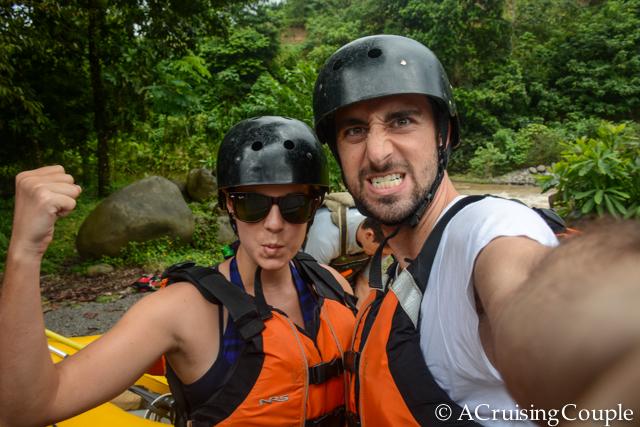 Whitewater Rafting La Fortuna Costa Rica