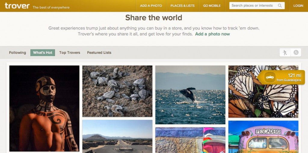 Trover Interface