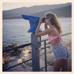 a blonde around the world
