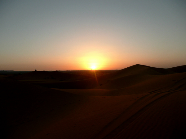 Sunday Snapshot Moroccan Sunrise