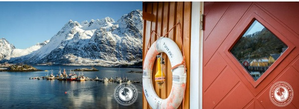 Houses in the Lofoten Islands