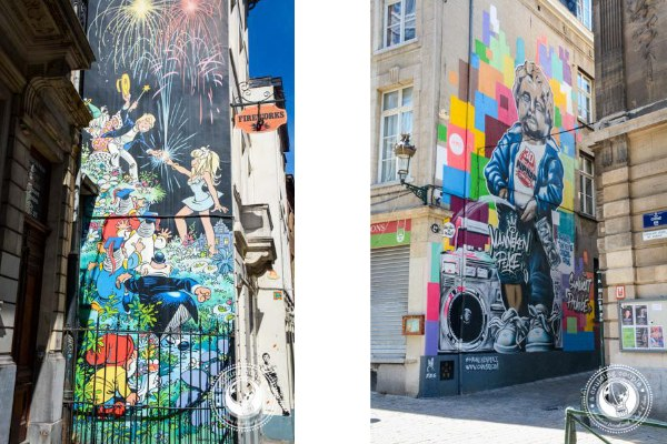 24 Hours in Brussels Street Art