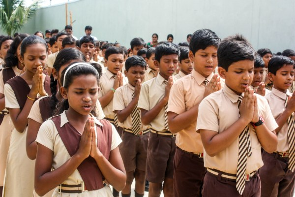 Praying in India