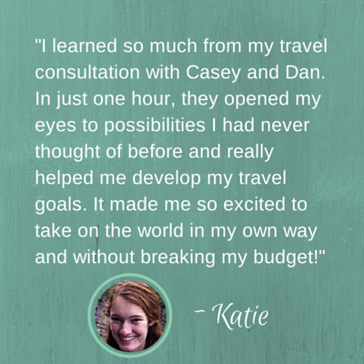 I learned so much from my travel consultation