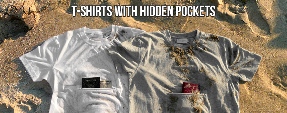 t-shirt hidden pocktes