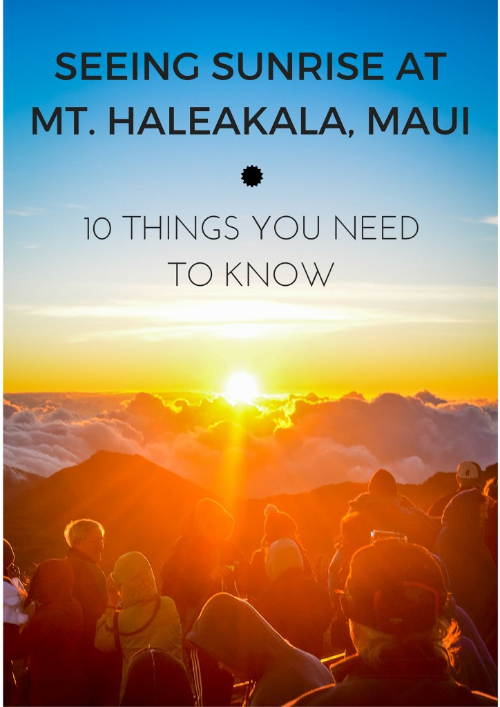 Sunrise At Mount Haleakala What To Know