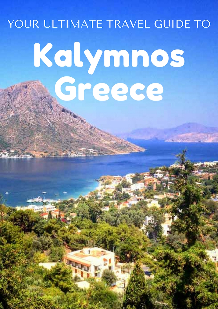 Traveling in Kalymnos, Greece